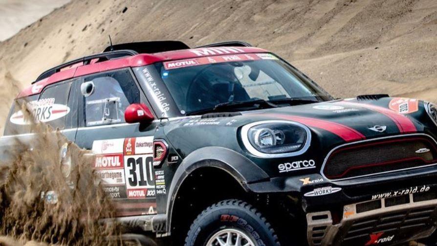 Orly Terranova sufrió un fuerte golpe y tuvo que abandonar el Dakar 2019