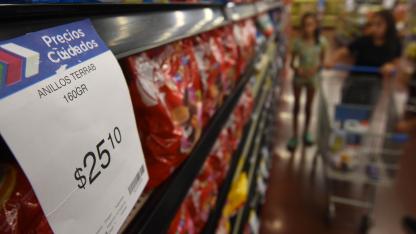 Una opción. Los productos de Precios Cuidados están señalizados, pero no siempre son la opción más económicas de la góndola.