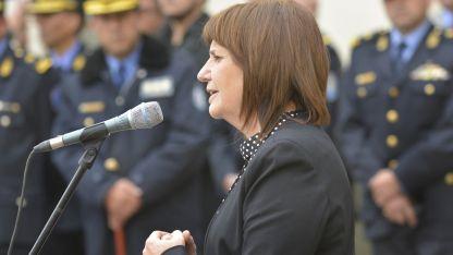 Impulsora. Patricia Bullrich, ministra de Seguridad.