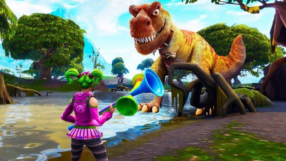 Fortnite: se vienen los Dinosaurios