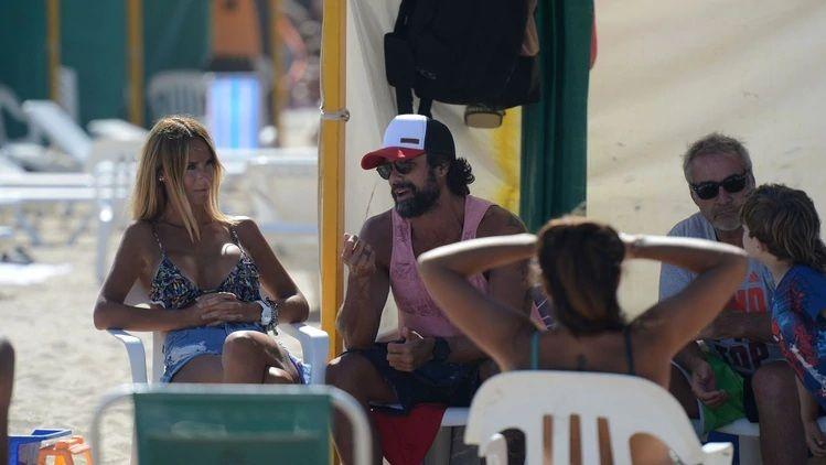 Las fotos de Sabrina Rojas y Luciano Castro de vacaciones y separados