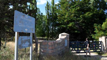 En Tupungato, El Monasterio estuvo cerrado hasta el domingo.