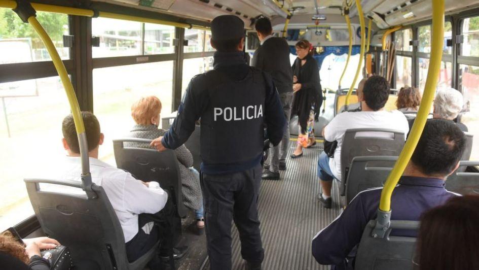 MendoTran: no hubo incidentes y esta noche evaluarán si seguirá la custodia policial