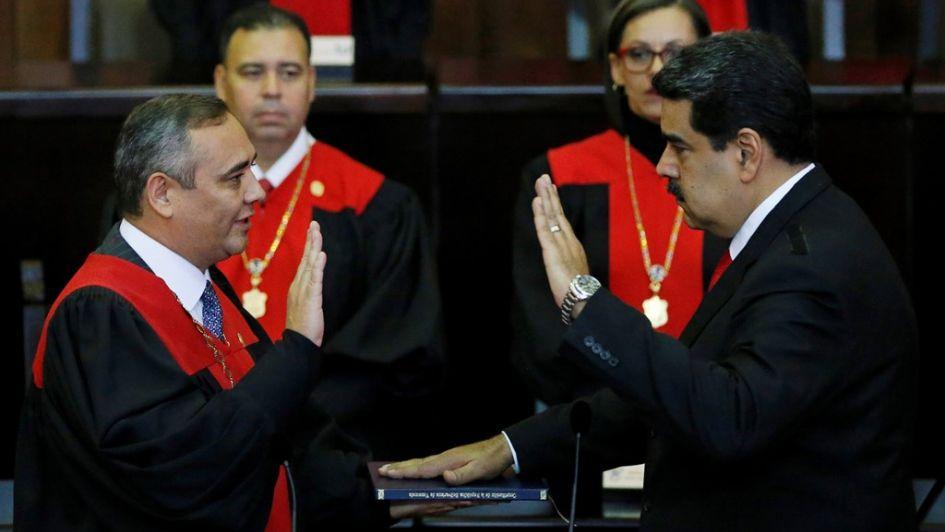 Maduro arrancó su segundo mandato: fuerte rechazo internacional