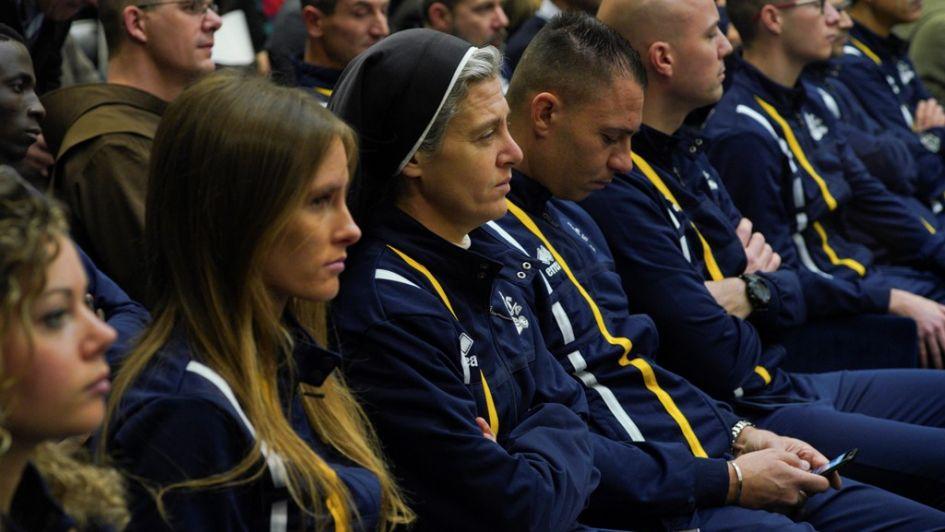 El Vaticano presenta a su equipo oficial de atletismo