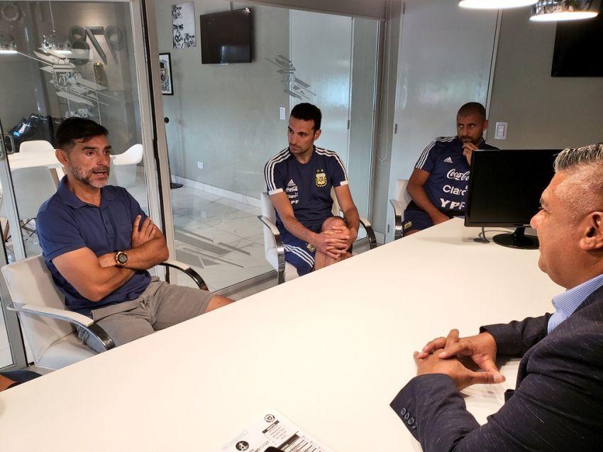 Ayala, al cuerpo técnico de la Selección