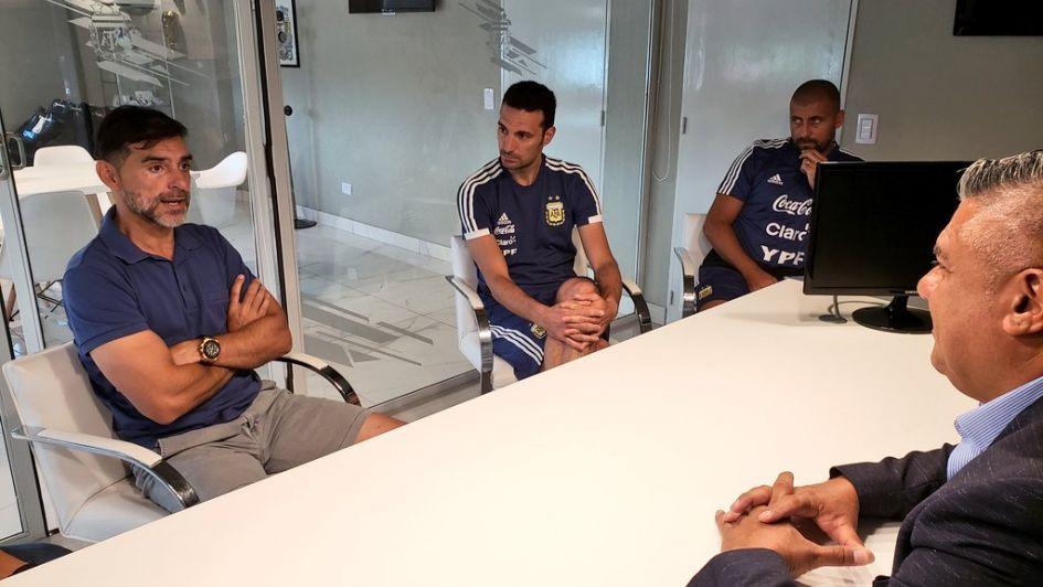 Selección argentina: el Ratón Ayala se suma al cuerpo técnico de Scaloni
