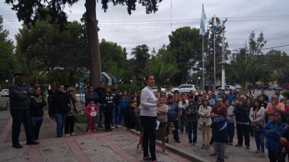 Vecinos de La Paz reclamaron por seguridad