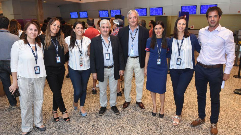 Las Heras promueve el turismo junto a Aeropuertos Argentina 2000 y el Fondo Vitivinícola