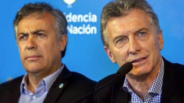 Macri recibe a Cornejo para pedirle que no desdoble las elecciones
