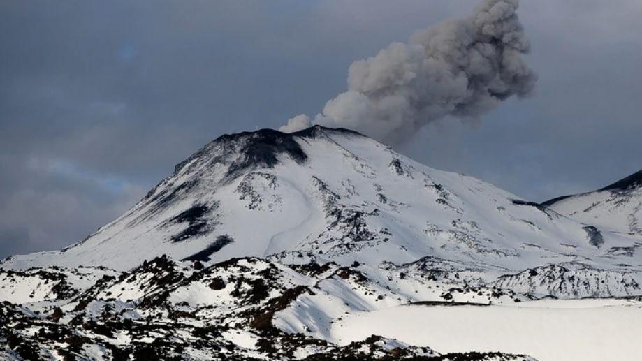 Explosión en Nevados del Chillán