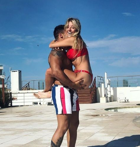 Nati Jota compartió su sensual manera de entrenar con su novio
