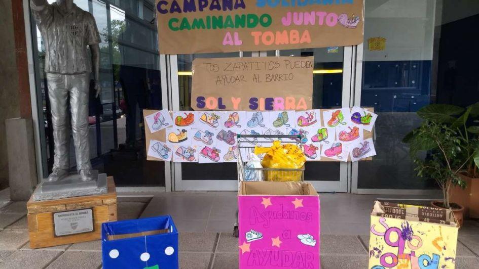 Godoy Cruz y una acción solidaria