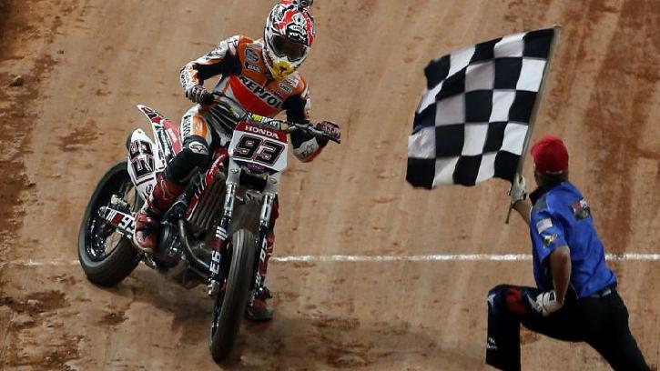 Márquez podría correr en el Dakar en un futuro