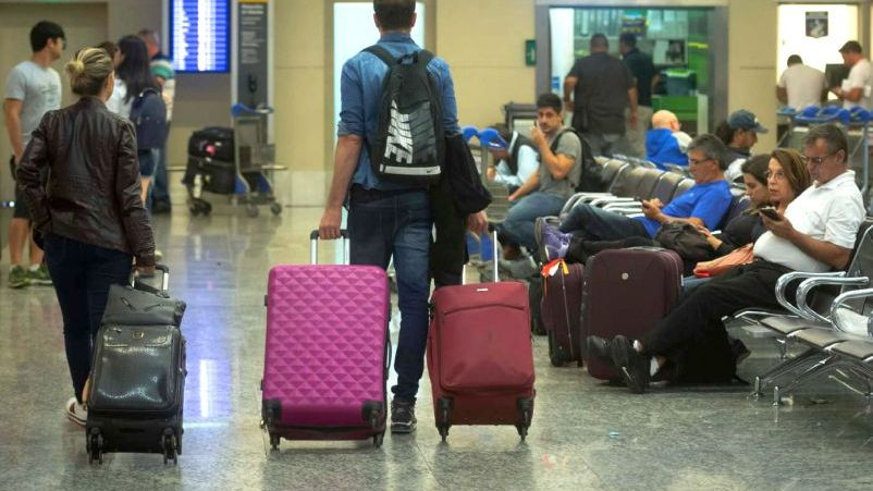 Récord de pasajeros en el aeropuerto: más de 2 millones en 2018