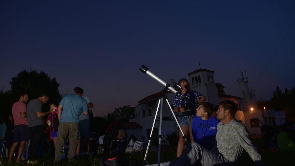 Astronomía: una noche para los fanáticos del cielo