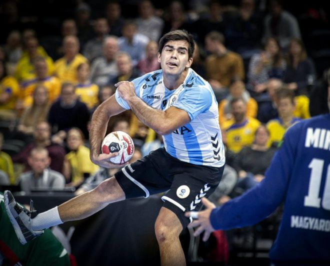 Handball: valioso empate de Argentina en el debut ecuménico