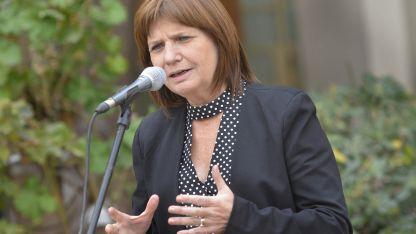 El texto fue redactado por la ministra de Seguridad Patricia Bullrich