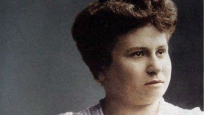 Pionera. Julieta Lanteri votó en noviembre de 1911, luego de presentar un reclamo judicial.