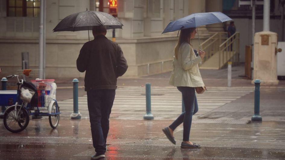 Pronostican un lunes con lluvias intensas e ingreso de frente frío