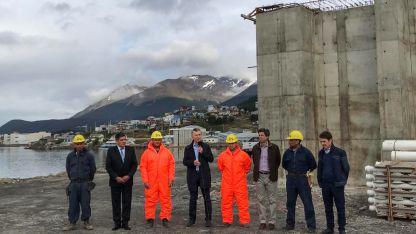 Macri en Tierra del Fuego.