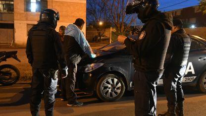 A tiempo. La Policía tuvo un rápido accionar y logró evitar lo que podrían haber sido tragedias