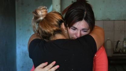 Lourdes Tejada (33), madre de la nena fallecida.