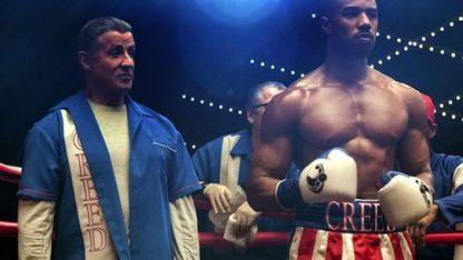 """""""Ahora tú eres el que debe llevar el manto"""", le dijo Stallone a Michael B. Jordan, quien interpreta a Adonis Creed."""
