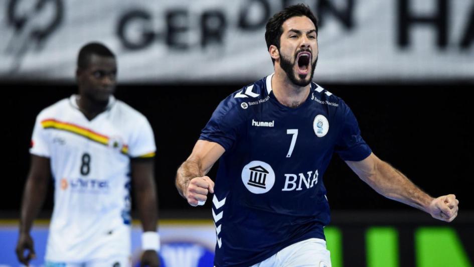 Mundial de handball: Los Gladiadores ganaron y definirán su pase mañana ante Qatar