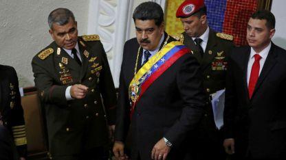 Arrinconado. Maduro se aferra a la presidencia.