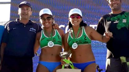 Euge Tuliz y Pitu Moreno volvieron a brillar en el circuito nacional.