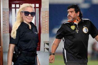 La foto que confirmaría la reconciliación de Diego Maradona y Verónica Ojeda