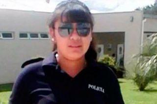 Víctima. La policía Romina Ugarte.