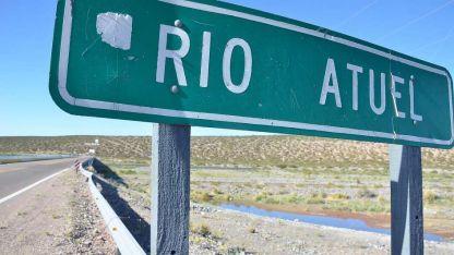 En disputa. El río Atuel mantiene vivo el conflicto entre Mendoza y La Pampa.