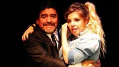 Otros tiempos. Ahora Diego y Dalma están distanciados.