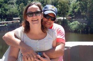 Danisa y Jorge Egidio Trossero estaban casados desde hacía siete años.