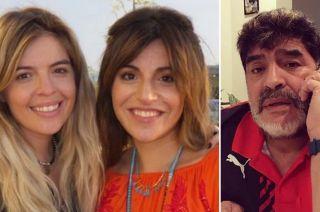 Tras las declaraciones de Diego Maradona, Gianinna y Dalma fallaron a favor de su mamá