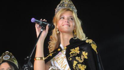 Candela Carrasco representó a San Martín en 2009 y luego fue elegida Reina Nacional.