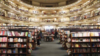 Un edificio único. Allí funcionó un teatro, una radio, una empresa discográfica y finalmente una de las más lindas librerías del mundo.