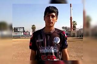 Mauro Fuentes (22)jugaba en El Tomba