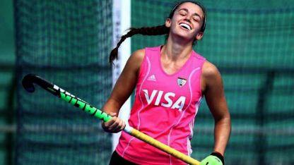 Jardel, actualmente en River, es una de las jugadoras de la nueva camada que buscan ganarse un lugar en Las Leonas.