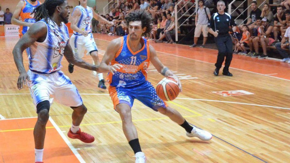 Rivadavia Basket recuperó la sonrisa
