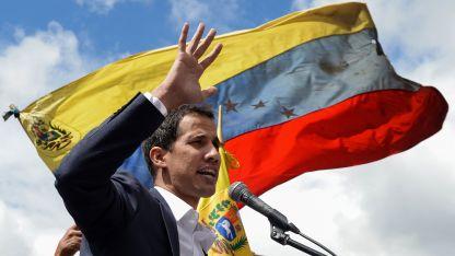 Controlado. Juan Guaidó es seguido de cerca por la Justicia de Venezuela.