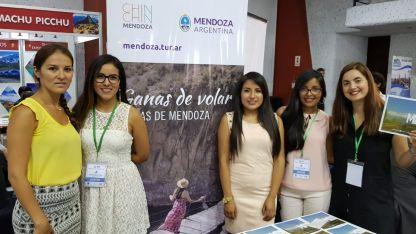 Buenas relaciones. La promoción de Mendoza en Lima.