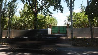 El predio en el que se ubicará la Municipalidad de Luján de Cuyo.