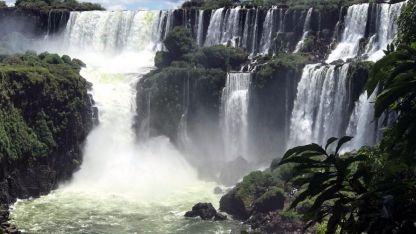 Imponente. La maravillosa vista de las Cataratas del Iguazú.