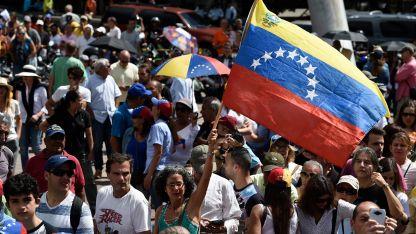 El pueblo venezolano, víctima de la crisis política, económica y social.