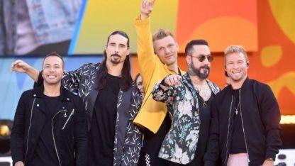 Populares. Los Backstreet Boys llegan a Chile en febrero.