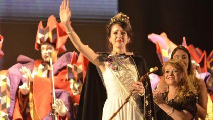Aixa Adriana Caruso, la nueva reina de Rivadavia.