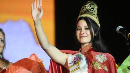 Victoria Chavez es la nueva reina de la vendimia 2019 de Tunuyán.